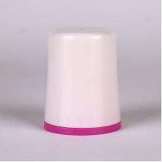 Крышка  двухкомпонентная (кольцо и крышка разного цвета) с контрольным кольцом вскрытия