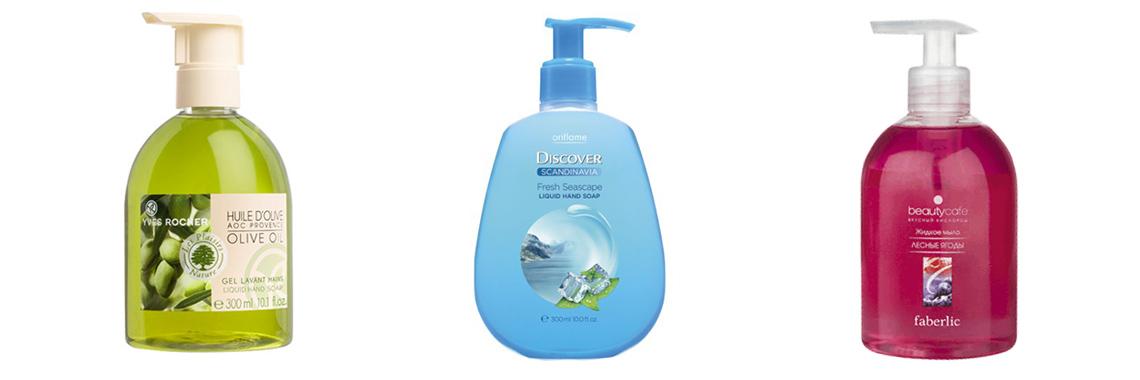 Флаконы для жидкого мыла
